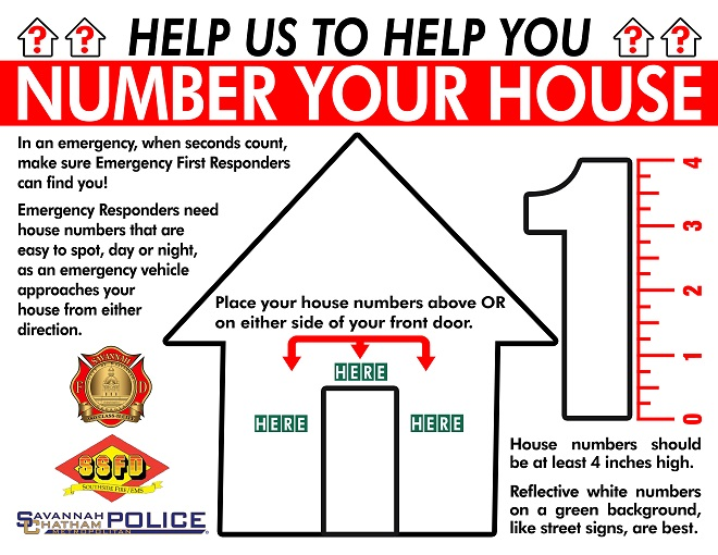 Number Your House!