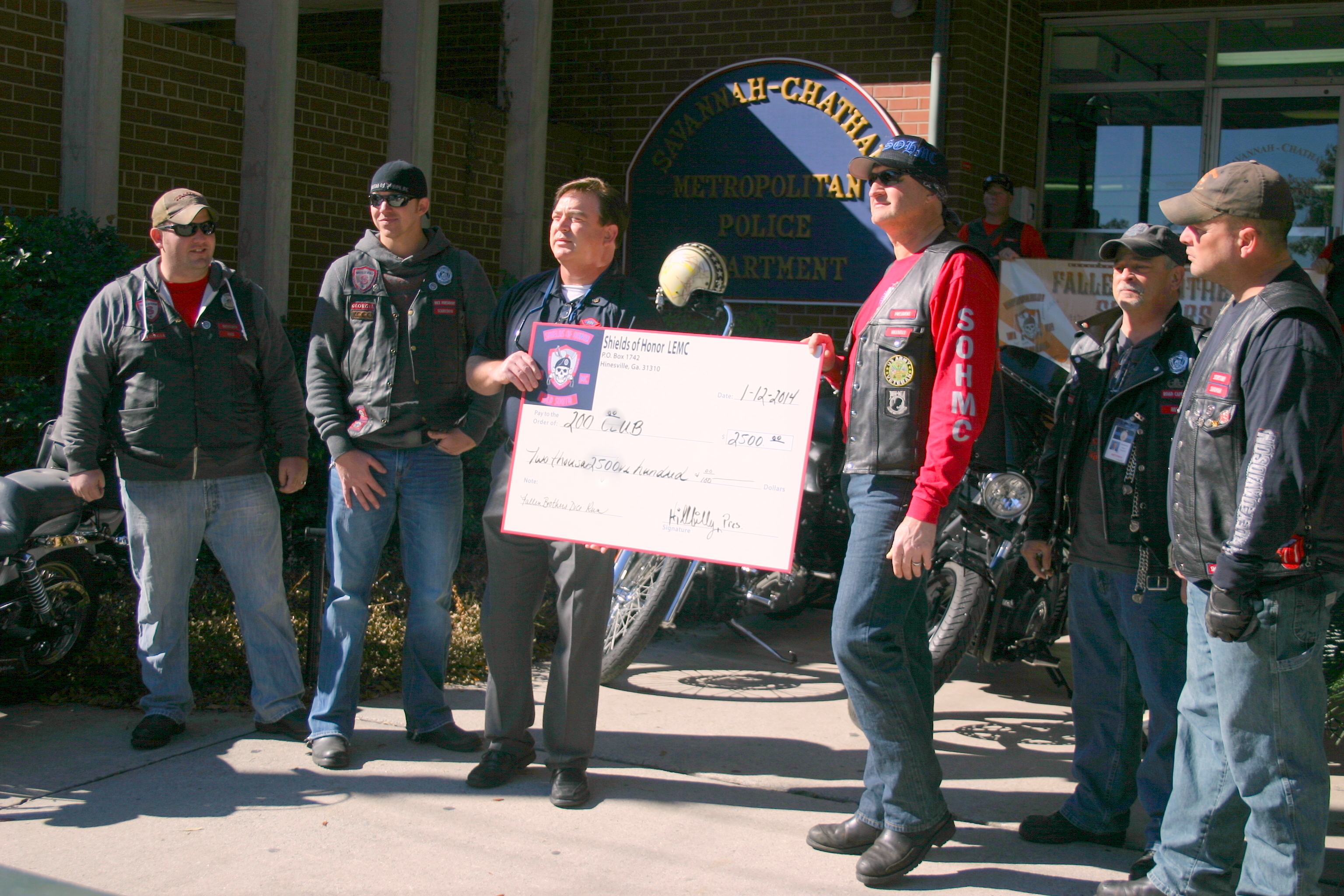 200 Club Check Presentation