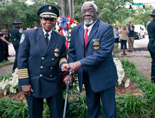 Chief Tolbert and Honorary Chief White