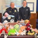 Chief Lumpkin, Father White and toys