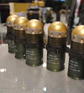 Seized HEDP rounds