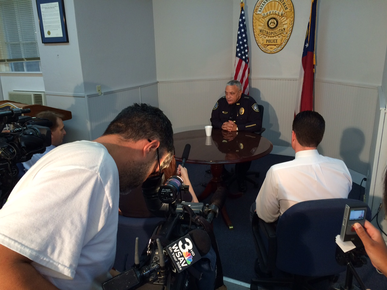 Chief Lumpkin Discusses Recent Ny Trip For Operation Ceasefire