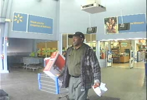 Suspect Sought in Credit Card Theft