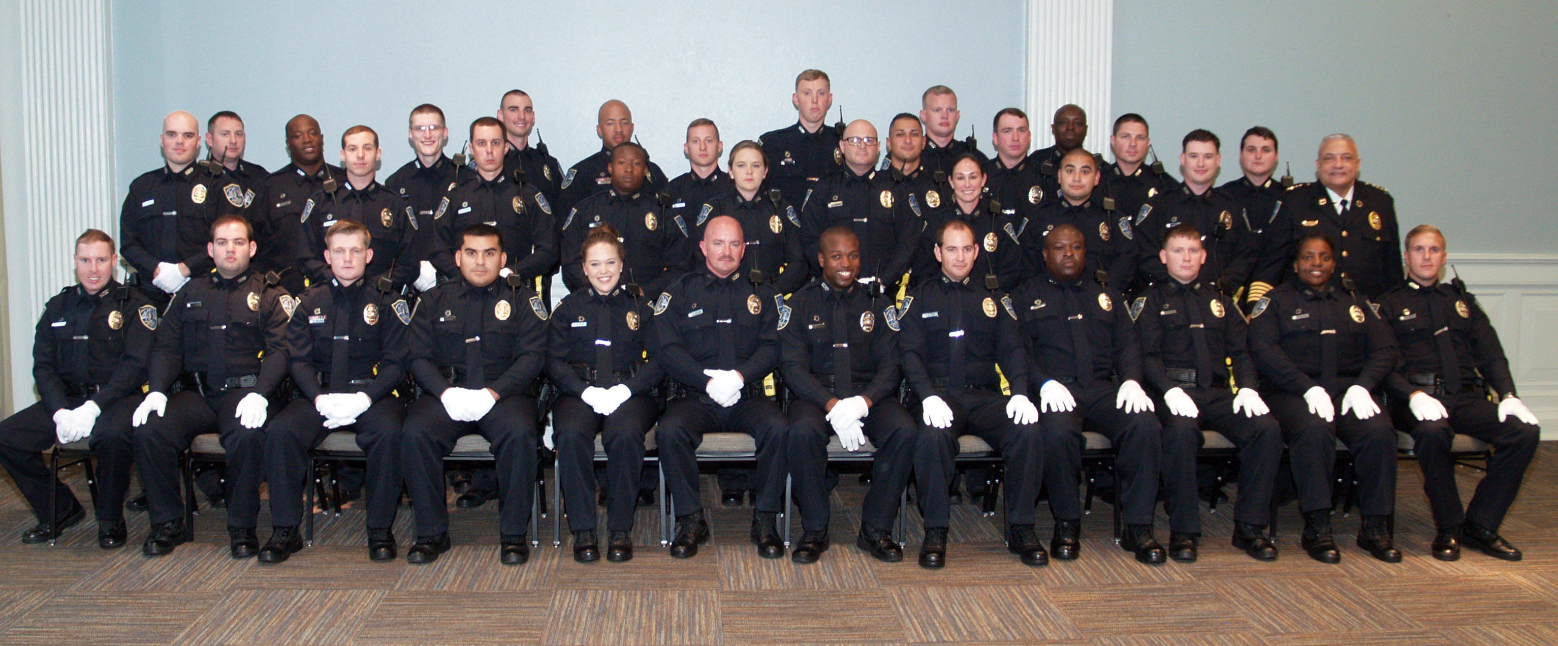 Swearing In Ceremony for 34 New Officers – SAVANNAH POLICE