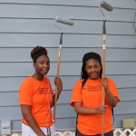 Damaya Magwood and Virginia Goodmen divided their summer work schedules between SPAP and SYA.
