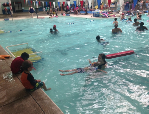 SPAP Youth Dive Into Employment at the Chatham County Aquatic Center
