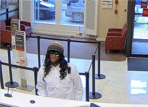 160816 - Bank robbery suspect