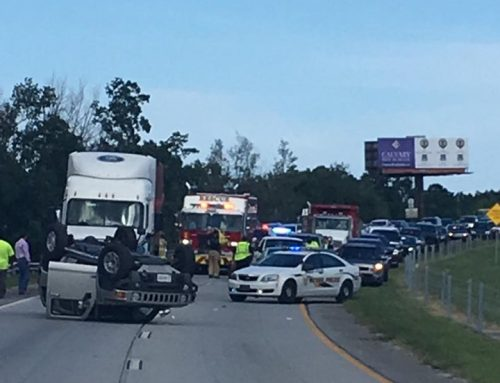 TIU Investigates Two-Vehicle Crash on I-16