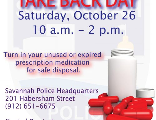 SPD to Participate in National Prescription Drug Take Back Day