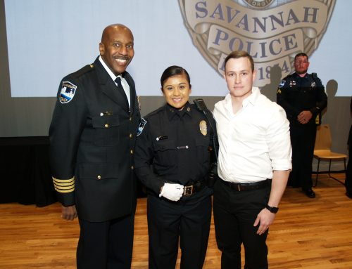 Savannah Police Celebrate Assistant Chief, Promotions and Graduates at Badge Pinning Ceremony