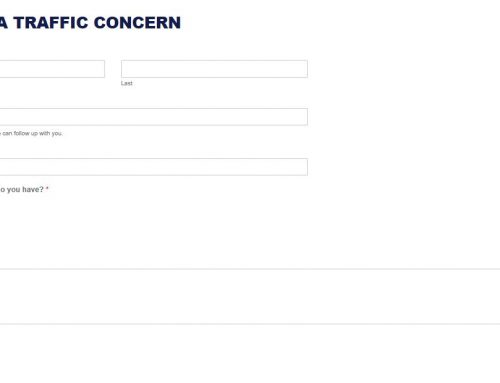 SPD Provides Online Option for Submitting Traffic Concerns