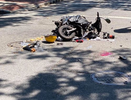 TIU Investigates Crash Involving Moped on Drayton Street