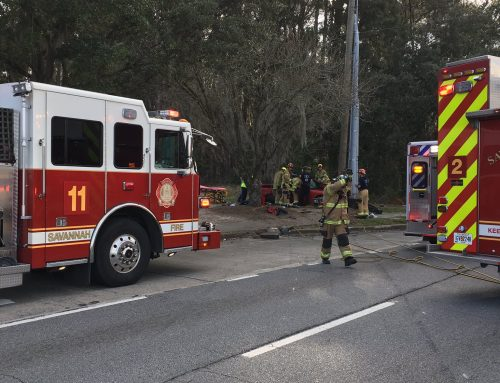 TIU Investigates Serious Injury, Single-Vehicle Wreck on Abercorn Street