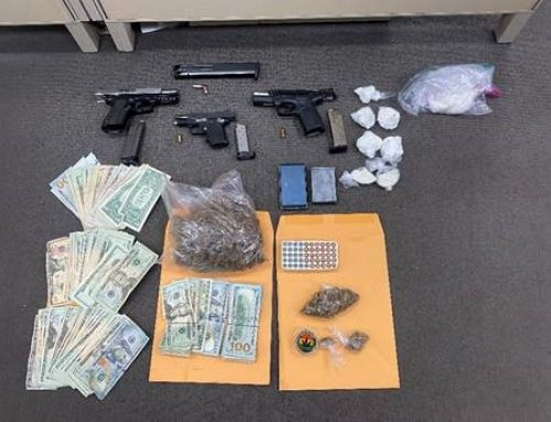 SPD Arrests Three, Seizes Multiple Guns and Drugs