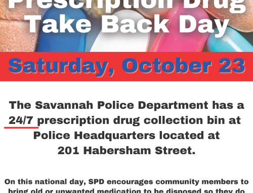SPD to Participate in National Drug Take Back Day